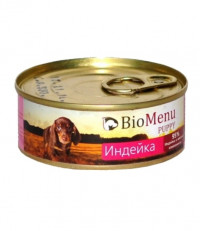 BioMenu Puppy для щенков с индейкой 100 гр