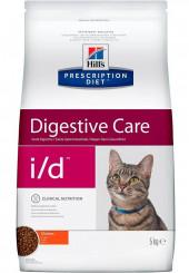 Hill's i/d Digestive Care сухой корм для кошек при болезнях ЖКТ 400 гр.