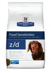 Hill's Z/D Mini Prescription Diet сухой корм для собак маленьких пород при аллергии 1,5 кг.