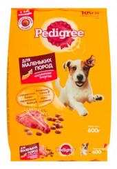 Pedigree сухой корм для собак маленьких пород 2,2 кг.